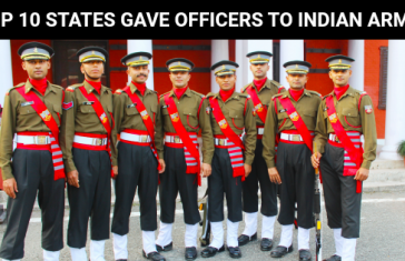 TOP 10 STATES GAVE OFFICERS TO INDIAN ARMY