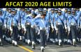 AFCAT 2020 AGE LIMITS