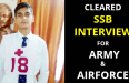 CLEARED SSB INTERVIEW FOR ARMY & AIRFORCE