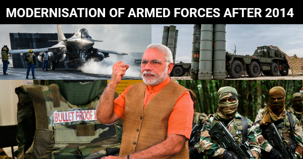 MODERNISATION OF INDIAN ARMED FORCES AFTER 2014