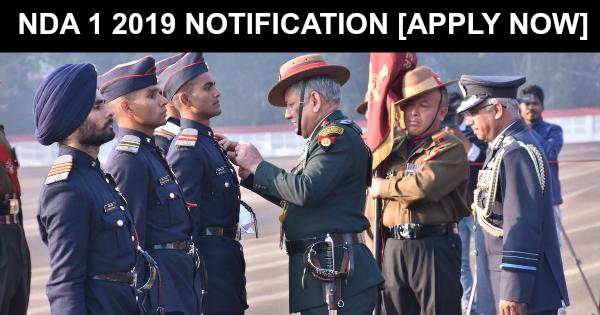 NDA 1 2019 NOTIFICATION [APPLY NOW]