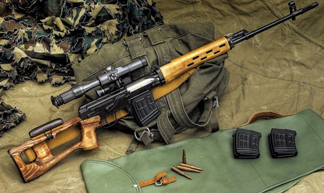 dragunov sniper rifle indian army