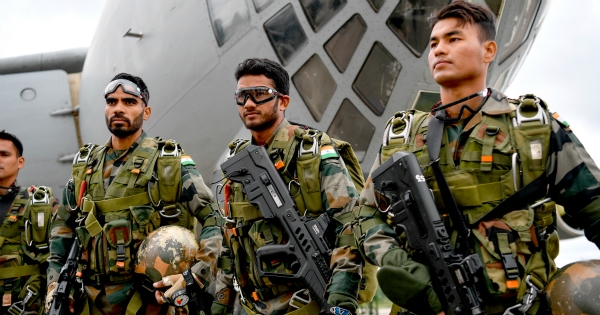 List of Indian Army Air Force Navy Military Exercises 2018