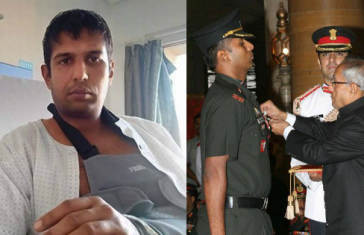 Brave Lt. Col. Anup, PARA Commando, Who Killed 3 Terrorists, Beaten Up In Road Rage
