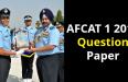 AFCAT 1 2019 Question Paper