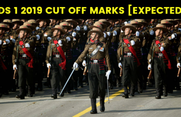 CDS 1 2019 CUT OFF MARKS [EXPECTED]