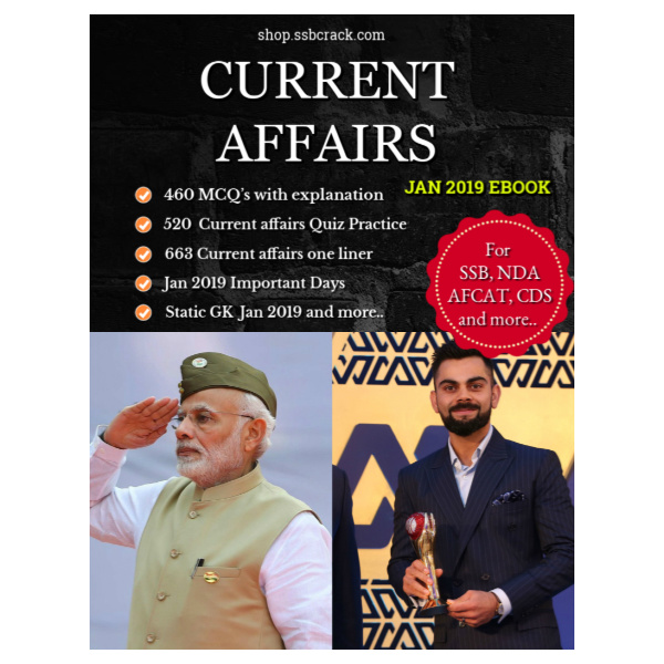 January 2019 Current Affairs GK Notes [PDF]