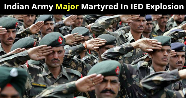 Indian Army Major Martyred In IED Explosion