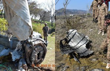 Pakistani f 16 shot down by IAF mig 21
