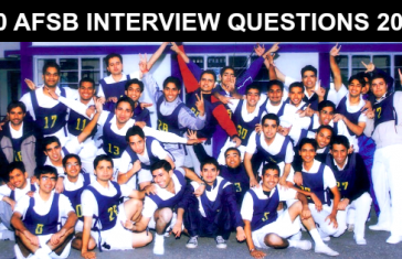 100 AFSB INTERVIEW QUESTIONS 2019