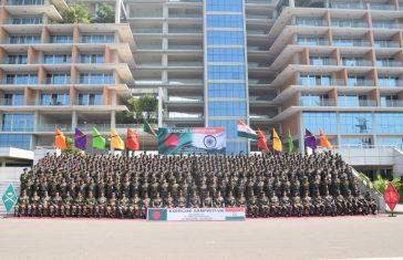 India-Bangladesh Joint Military Exercise Sampriti 2019