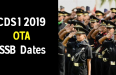 CDS 1 2019 OTA SSB Dates