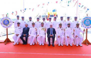 Commissioning of Indian Coast Guard Vessel C-441