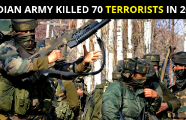 INDIAN ARMY KILLED 70 TERRORISTS IN 2019