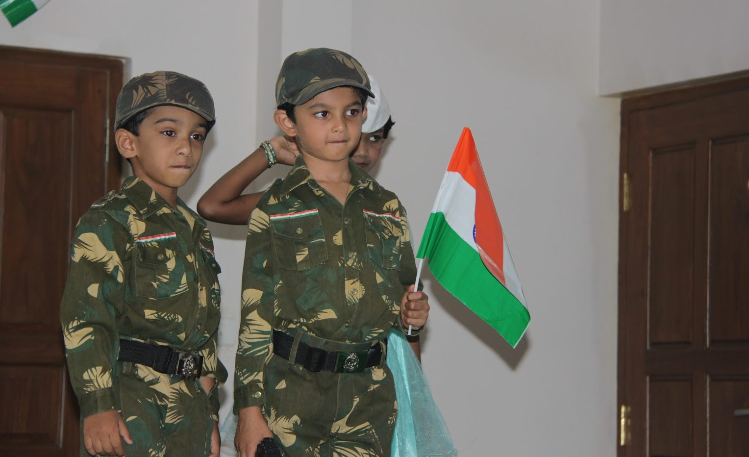 Indian Army Kids