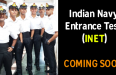 Indian Navy Entrance Test (INET) COMING SOON