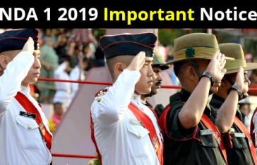 NDA 1 2019 Important Notice
