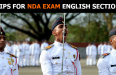 TIPS FOR NDA EXAM ENGLISH SECTION