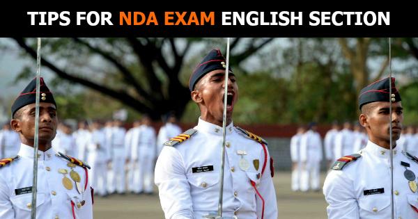 TIPS FOR NDA EXAM ENGLISH SECTION