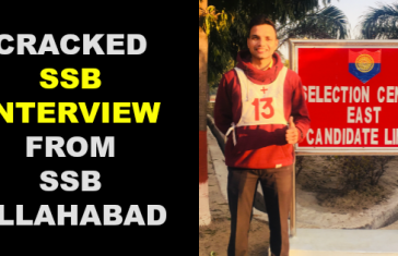 CRACKED SSB INTERVIEW FROM SSB ALLAHABAD