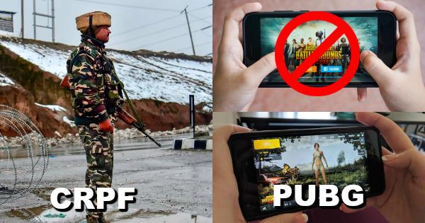 CRPF bans PUBG