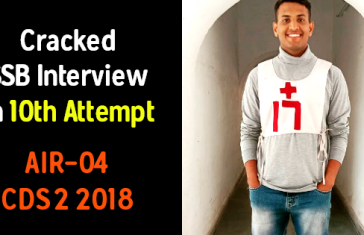 Cracked SSB Interview In 10th Attempt