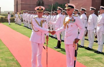 Admiral Karambir Singh Becomes 24th Chief of the Naval Staff