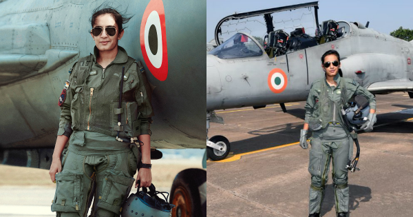Flt Lt Mohana Singh Becomes 1st Woman Fighter Pilot Fully Operational By  Day On Hawk Aircraft