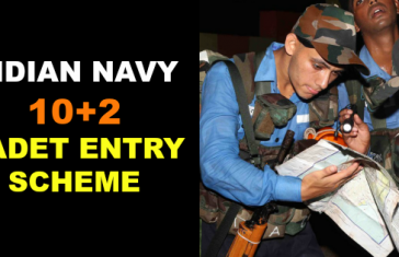 INDIAN NAVY 10+2 CADET ENTRY SCHEME