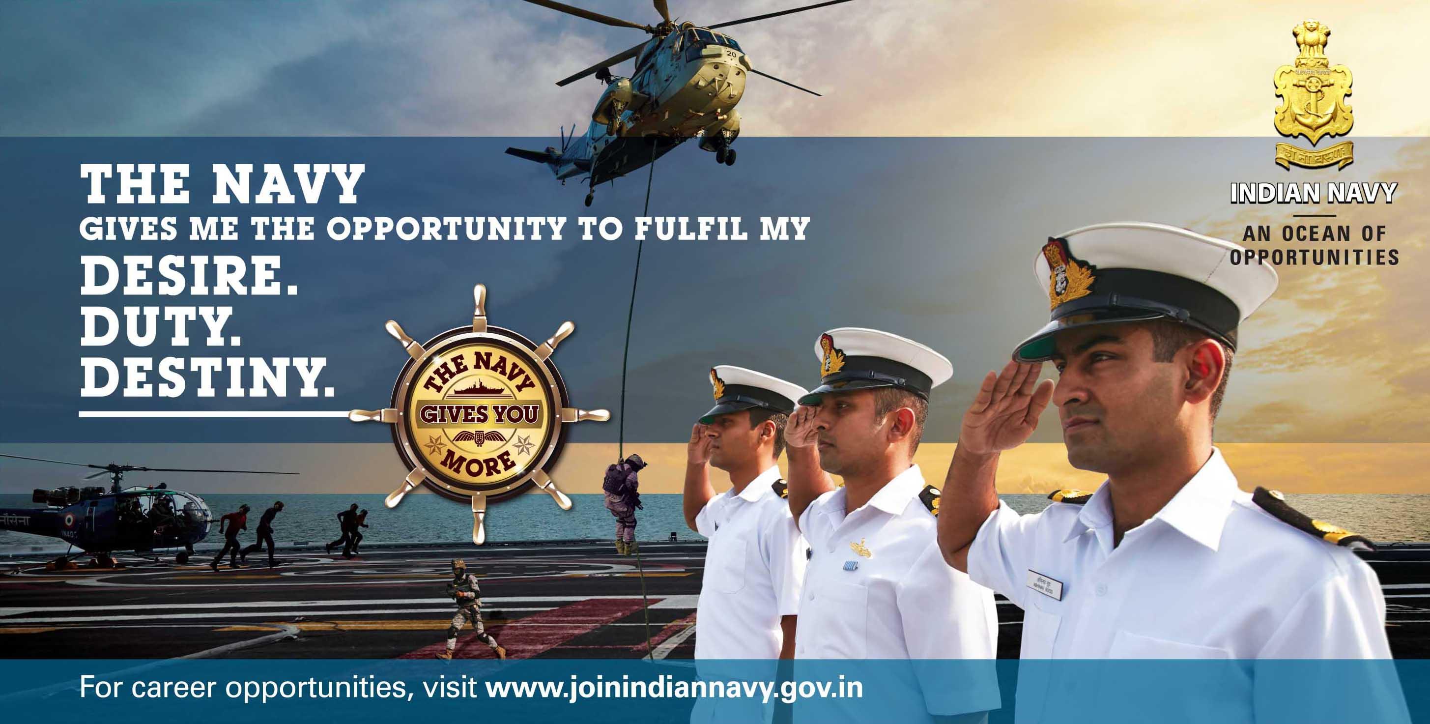 Indian Navy Entrance Exam