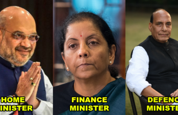 List of cabinet minister 2019