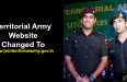 Territorial Army Website