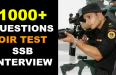 1000+ QUESTIONS OIR TEST SSB INTERVIEW