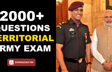 2000+ QUESTIONS TERRITORIAL ARMY EXAM