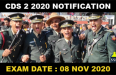 CDS 2 2020 NOTIFICATION