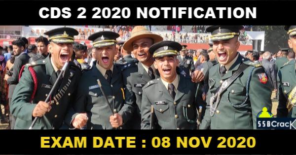 CDS 2 2020 NOTIFICATION