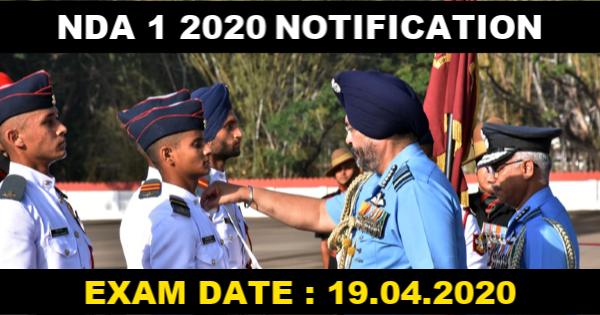 NDA 1 2020 NOTIFICATION
