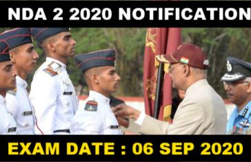 NDA 2 2020 NOTIFICATION