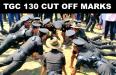 TGC 130 Cut Off Marks
