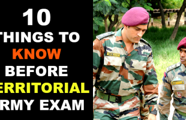 10 THINGS TO KNOW BEFORE TERRITORIAL ARMY EXAM