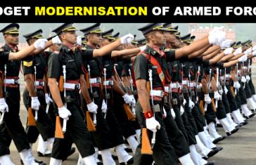 BUDGET MODERNISATION OF ARMED FORCES