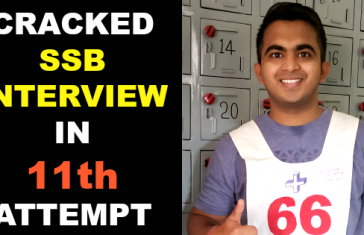 CRACKED SSB INTERVIEW IN 11th ATTEMPT