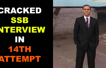 CRACKED SSB INTERVIEW IN 14TH ATTEMPT