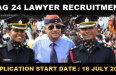 JAG 24 Lawyer Recruitment