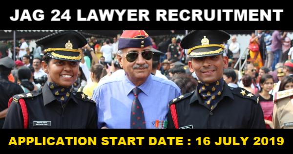 JAG 24 Lawyer Recruitment