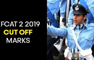 AFCAT 2 2019 CUT OFF MARKS