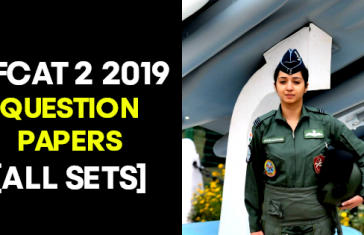 AFCAT 2 2019 QUESTION PAPERS [ALL SETS]