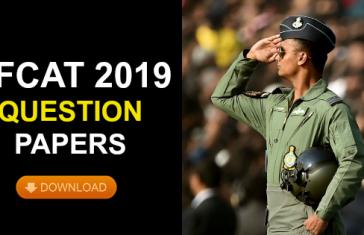AFCAT 2019 Questions