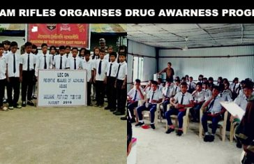 Military Outreach: Assam Rifles Organised Drug Awareness Program for Manipuri Youth