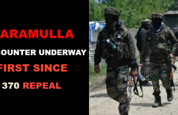 Baramulla: Encounter With Militants Underway